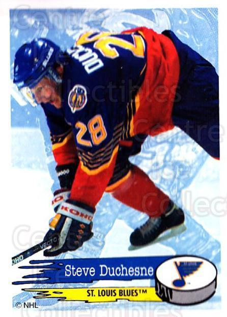 1995-96 Panini Stickers #195 Steve Duchesne<br/>6 In Stock - $1.00 each - <a href=https://centericecollectibles.foxycart.com/cart?name=1995-96%20Panini%20Stickers%20%23195%20Steve%20Duchesne...&quantity_max=6&price=$1.00&code=41314 class=foxycart> Buy it now! </a>