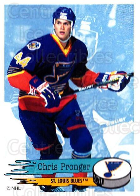 1995-96 Panini Stickers #198 Chris Pronger<br/>6 In Stock - $1.00 each - <a href=https://centericecollectibles.foxycart.com/cart?name=1995-96%20Panini%20Stickers%20%23198%20Chris%20Pronger...&quantity_max=6&price=$1.00&code=41317 class=foxycart> Buy it now! </a>