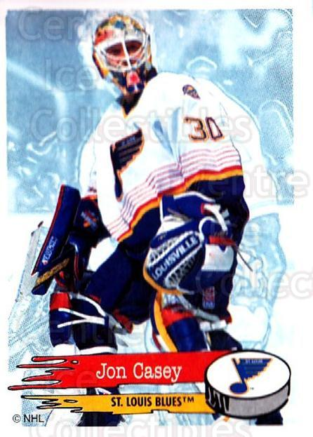 1995-96 Panini Stickers #199 Jon Casey<br/>6 In Stock - $1.00 each - <a href=https://centericecollectibles.foxycart.com/cart?name=1995-96%20Panini%20Stickers%20%23199%20Jon%20Casey...&quantity_max=6&price=$1.00&code=41318 class=foxycart> Buy it now! </a>