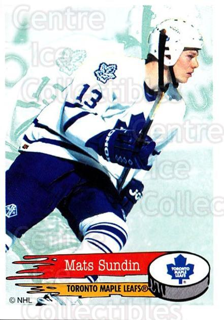 1995-96 Panini Stickers #201 Mats Sundin<br/>6 In Stock - $1.00 each - <a href=https://centericecollectibles.foxycart.com/cart?name=1995-96%20Panini%20Stickers%20%23201%20Mats%20Sundin...&quantity_max=6&price=$1.00&code=41322 class=foxycart> Buy it now! </a>