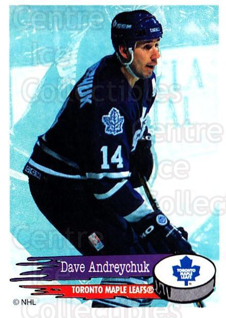 1995-96 Panini Stickers #203 Dave Andreychuk<br/>6 In Stock - $1.00 each - <a href=https://centericecollectibles.foxycart.com/cart?name=1995-96%20Panini%20Stickers%20%23203%20Dave%20Andreychuk...&quantity_max=6&price=$1.00&code=41324 class=foxycart> Buy it now! </a>