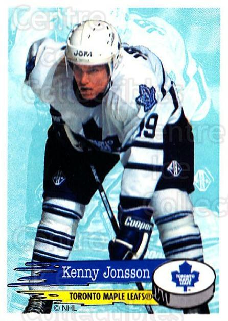 1995-96 Panini Stickers #208 Kenny Jonsson<br/>2 In Stock - $1.00 each - <a href=https://centericecollectibles.foxycart.com/cart?name=1995-96%20Panini%20Stickers%20%23208%20Kenny%20Jonsson...&quantity_max=2&price=$1.00&code=41329 class=foxycart> Buy it now! </a>