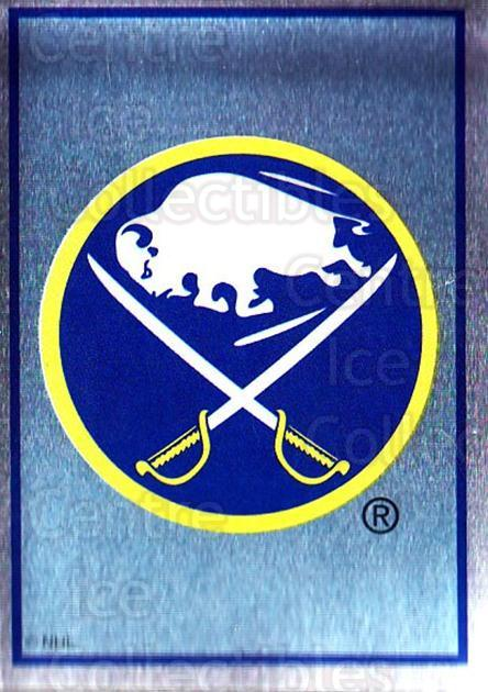 1995-96 Panini Stickers #21 Buffalo Sabres<br/>5 In Stock - $1.00 each - <a href=https://centericecollectibles.foxycart.com/cart?name=1995-96%20Panini%20Stickers%20%2321%20Buffalo%20Sabres...&quantity_max=5&price=$1.00&code=41331 class=foxycart> Buy it now! </a>