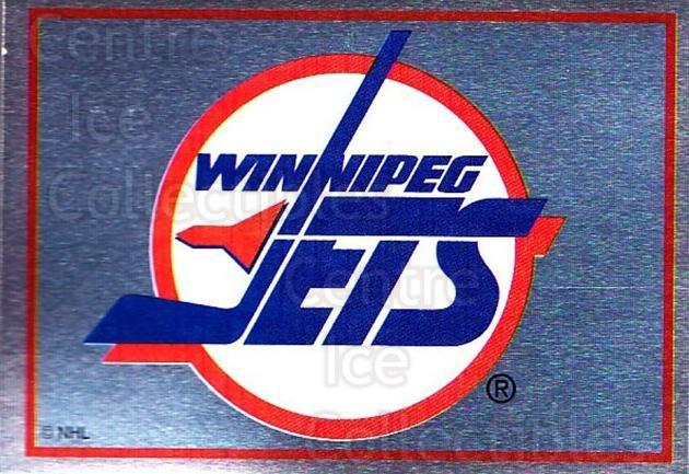 1995-96 Panini Stickers #218 Winnipeg Jets<br/>5 In Stock - $1.00 each - <a href=https://centericecollectibles.foxycart.com/cart?name=1995-96%20Panini%20Stickers%20%23218%20Winnipeg%20Jets...&quantity_max=5&price=$1.00&code=41339 class=foxycart> Buy it now! </a>