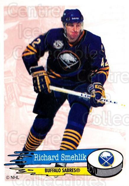 1995-96 Panini Stickers #22 Richard Smehlik<br/>5 In Stock - $1.00 each - <a href=https://centericecollectibles.foxycart.com/cart?name=1995-96%20Panini%20Stickers%20%2322%20Richard%20Smehlik...&quantity_max=5&price=$1.00&code=41341 class=foxycart> Buy it now! </a>