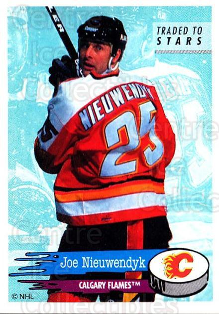 1995-96 Panini Stickers #233 Joe Nieuwendyk<br/>5 In Stock - $1.00 each - <a href=https://centericecollectibles.foxycart.com/cart?name=1995-96%20Panini%20Stickers%20%23233%20Joe%20Nieuwendyk...&quantity_max=5&price=$1.00&code=41356 class=foxycart> Buy it now! </a>