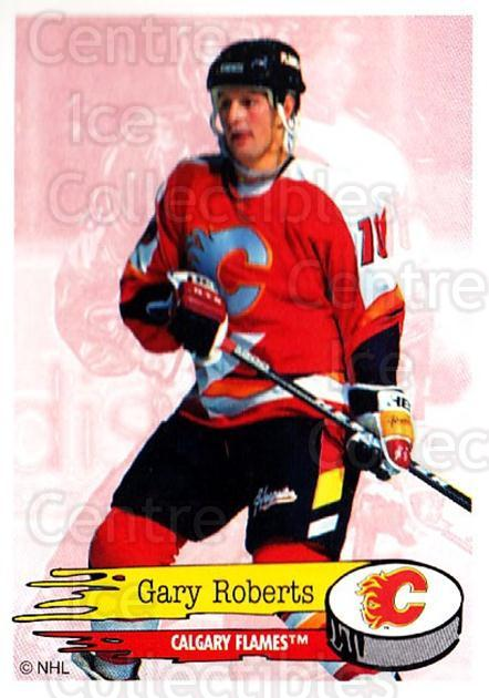 1995-96 Panini Stickers #236 Gary Roberts<br/>5 In Stock - $1.00 each - <a href=https://centericecollectibles.foxycart.com/cart?name=1995-96%20Panini%20Stickers%20%23236%20Gary%20Roberts...&quantity_max=5&price=$1.00&code=41359 class=foxycart> Buy it now! </a>