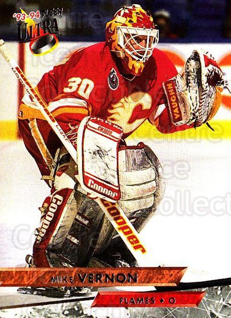 1993-94 Ultra #207 Mike Vernon<br/>5 In Stock - $1.00 each - <a href=https://centericecollectibles.foxycart.com/cart?name=1993-94%20Ultra%20%23207%20Mike%20Vernon...&quantity_max=5&price=$1.00&code=4142 class=foxycart> Buy it now! </a>