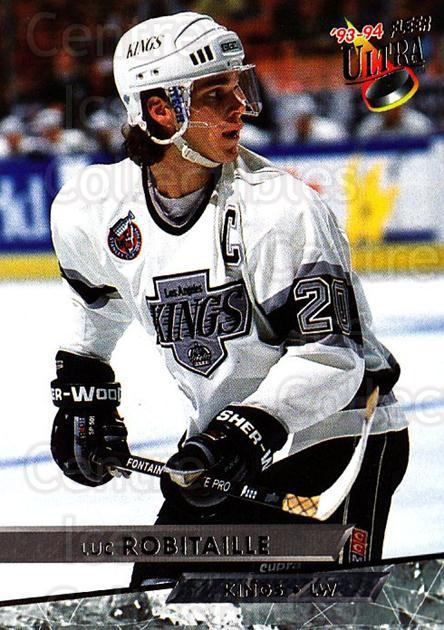 1993-94 Ultra #208 Luc Robitaille<br/>5 In Stock - $1.00 each - <a href=https://centericecollectibles.foxycart.com/cart?name=1993-94%20Ultra%20%23208%20Luc%20Robitaille...&quantity_max=5&price=$1.00&code=4143 class=foxycart> Buy it now! </a>