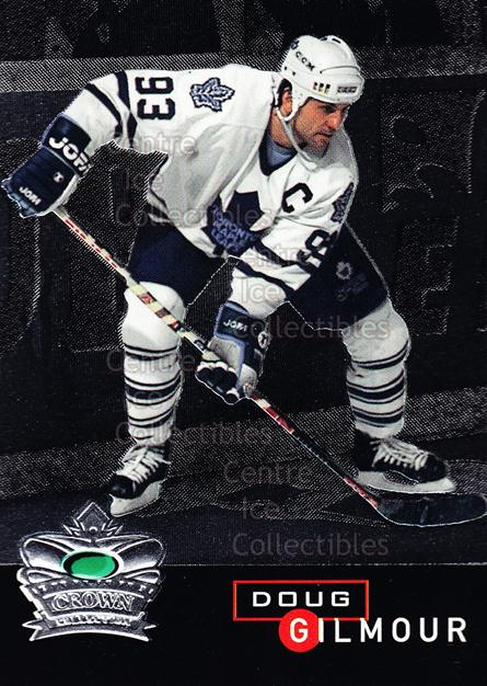 1995-96 Parkhurst Crown Collection Silver Series 1 #12 Doug Gilmour<br/>18 In Stock - $2.00 each - <a href=https://centericecollectibles.foxycart.com/cart?name=1995-96%20Parkhurst%20Crown%20Collection%20Silver%20Series%201%20%2312%20Doug%20Gilmour...&quantity_max=18&price=$2.00&code=41541 class=foxycart> Buy it now! </a>