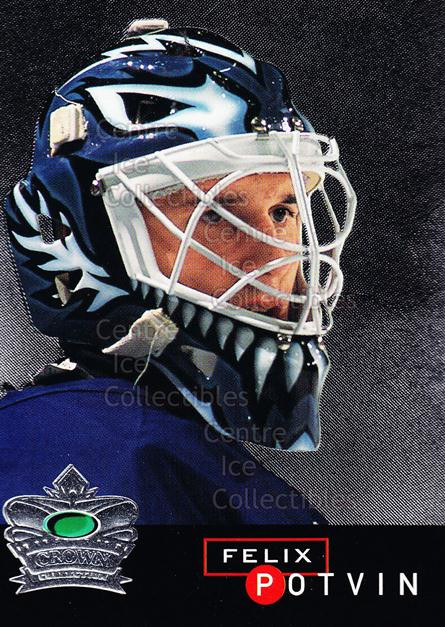 1995-96 Parkhurst Crown Collection Silver Series 1 #2 Felix Potvin<br/>14 In Stock - $2.00 each - <a href=https://centericecollectibles.foxycart.com/cart?name=1995-96%20Parkhurst%20Crown%20Collection%20Silver%20Series%201%20%232%20Felix%20Potvin...&quantity_max=14&price=$2.00&code=41544 class=foxycart> Buy it now! </a>