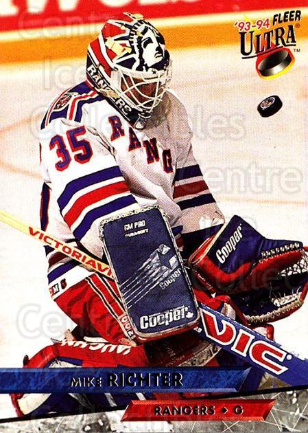 1993-94 Ultra #228 Mike Richter<br/>5 In Stock - $1.00 each - <a href=https://centericecollectibles.foxycart.com/cart?name=1993-94%20Ultra%20%23228%20Mike%20Richter...&quantity_max=5&price=$1.00&code=4165 class=foxycart> Buy it now! </a>