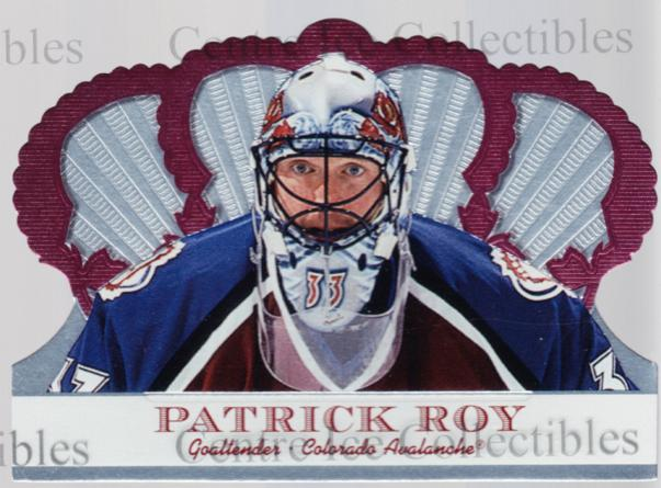 2000-01 Crown Royale Retail Red #30 Patrick Roy<br/>1 In Stock - $10.00 each - <a href=https://centericecollectibles.foxycart.com/cart?name=2000-01%20Crown%20Royale%20Retail%20Red%20%2330%20Patrick%20Roy...&price=$10.00&code=417117 class=foxycart> Buy it now! </a>