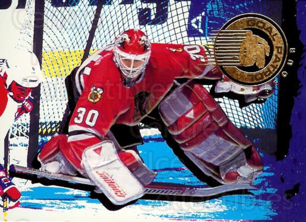 1995-96 Parkhurst Goal Patrol #6 Ed Belfour<br/>3 In Stock - $3.00 each - <a href=https://centericecollectibles.foxycart.com/cart?name=1995-96%20Parkhurst%20Goal%20Patrol%20%236%20Ed%20Belfour...&price=$3.00&code=41716 class=foxycart> Buy it now! </a>