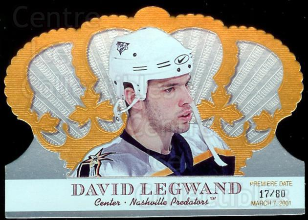 2000-01 Crown Royale Premiere Date #60 David Legwand<br/>2 In Stock - $5.00 each - <a href=https://centericecollectibles.foxycart.com/cart?name=2000-01%20Crown%20Royale%20Premiere%20Date%20%2360%20David%20Legwand...&quantity_max=2&price=$5.00&code=417400 class=foxycart> Buy it now! </a>