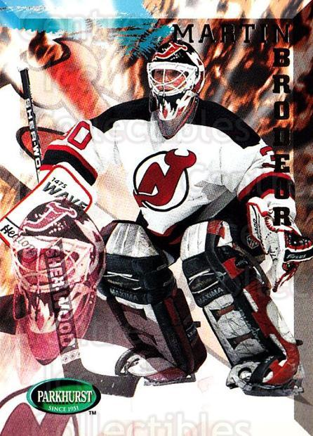 1995-96 Parkhurst #122 Martin Brodeur<br/>1 In Stock - $2.00 each - <a href=https://centericecollectibles.foxycart.com/cart?name=1995-96%20Parkhurst%20%23122%20Martin%20Brodeur...&price=$2.00&code=41754 class=foxycart> Buy it now! </a>