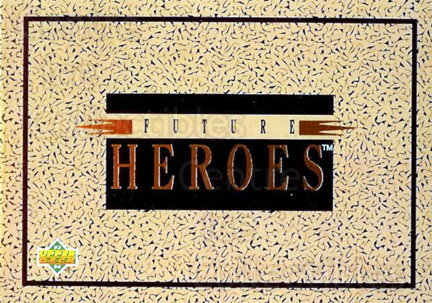 1993-94 Upper Deck Future Heroes #0 Header Card<br/>1 In Stock - $3.00 each - <a href=https://centericecollectibles.foxycart.com/cart?name=1993-94%20Upper%20Deck%20Future%20Heroes%20%230%20Header%20Card...&price=$3.00&code=4176 class=foxycart> Buy it now! </a>