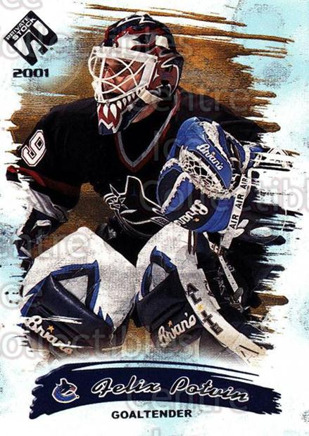 2000-01 Private Stock Retail #97 Felix Potvin<br/>1 In Stock - $1.00 each - <a href=https://centericecollectibles.foxycart.com/cart?name=2000-01%20Private%20Stock%20Retail%20%2397%20Felix%20Potvin...&quantity_max=1&price=$1.00&code=417705 class=foxycart> Buy it now! </a>