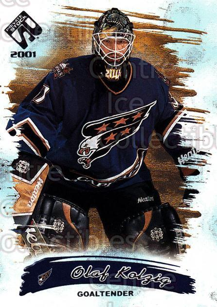 2000-01 Private Stock Retail #99 Olaf Kolzig<br/>2 In Stock - $1.00 each - <a href=https://centericecollectibles.foxycart.com/cart?name=2000-01%20Private%20Stock%20Retail%20%2399%20Olaf%20Kolzig...&quantity_max=2&price=$1.00&code=417707 class=foxycart> Buy it now! </a>