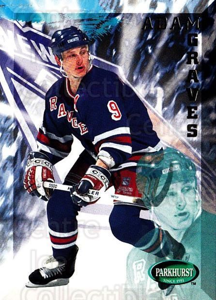 1995-96 Parkhurst #137 Adam Graves<br/>4 In Stock - $1.00 each - <a href=https://centericecollectibles.foxycart.com/cart?name=1995-96%20Parkhurst%20%23137%20Adam%20Graves...&quantity_max=4&price=$1.00&code=41770 class=foxycart> Buy it now! </a>
