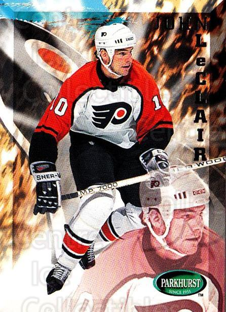 1995-96 Parkhurst #157 John LeClair<br/>4 In Stock - $1.00 each - <a href=https://centericecollectibles.foxycart.com/cart?name=1995-96%20Parkhurst%20%23157%20John%20LeClair...&quantity_max=4&price=$1.00&code=41792 class=foxycart> Buy it now! </a>