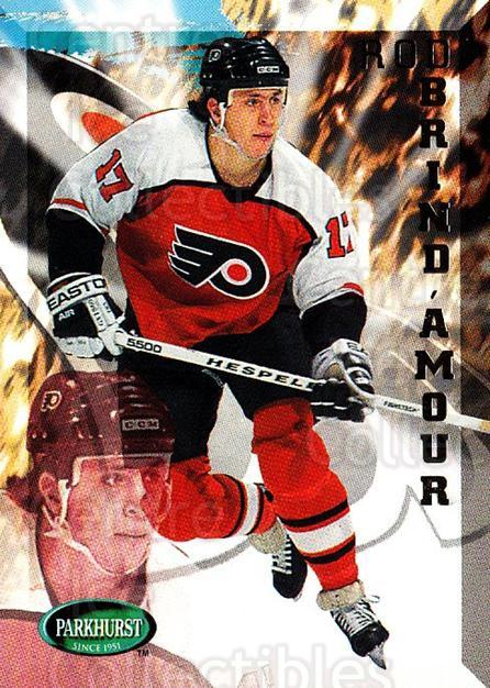 1995-96 Parkhurst #158 Rod Brind'Amour<br/>3 In Stock - $1.00 each - <a href=https://centericecollectibles.foxycart.com/cart?name=1995-96%20Parkhurst%20%23158%20Rod%20Brind'Amour...&quantity_max=3&price=$1.00&code=41793 class=foxycart> Buy it now! </a>