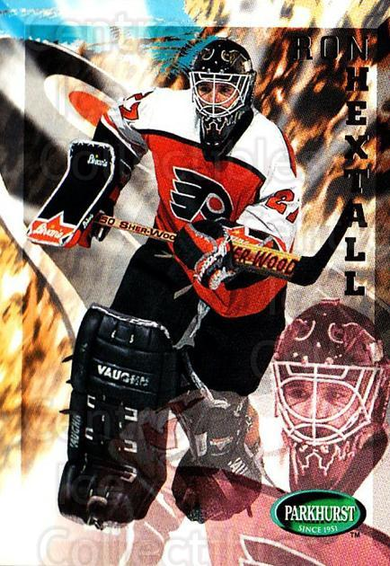 1995-96 Parkhurst #159 Ron Hextall<br/>1 In Stock - $1.00 each - <a href=https://centericecollectibles.foxycart.com/cart?name=1995-96%20Parkhurst%20%23159%20Ron%20Hextall...&quantity_max=1&price=$1.00&code=41794 class=foxycart> Buy it now! </a>