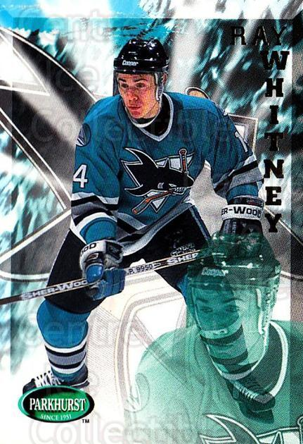 1995-96 Parkhurst #183 Ray Whitney<br/>2 In Stock - $1.00 each - <a href=https://centericecollectibles.foxycart.com/cart?name=1995-96%20Parkhurst%20%23183%20Ray%20Whitney...&quantity_max=2&price=$1.00&code=41821 class=foxycart> Buy it now! </a>