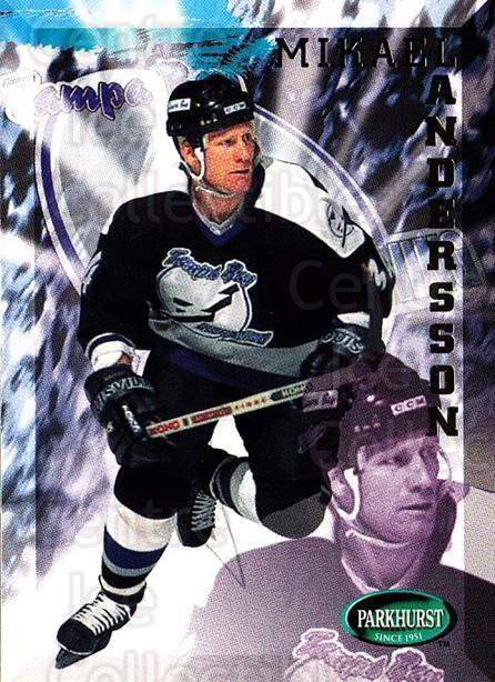 1995-96 Parkhurst #196 Mikael Andersson<br/>4 In Stock - $1.00 each - <a href=https://centericecollectibles.foxycart.com/cart?name=1995-96%20Parkhurst%20%23196%20Mikael%20Andersso...&quantity_max=4&price=$1.00&code=41835 class=foxycart> Buy it now! </a>