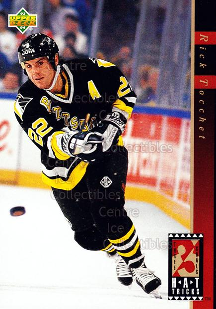 1993-94 Upper Deck Hat Tricks #12 Rick Tocchet<br/>11 In Stock - $2.00 each - <a href=https://centericecollectibles.foxycart.com/cart?name=1993-94%20Upper%20Deck%20Hat%20Tricks%20%2312%20Rick%20Tocchet...&quantity_max=11&price=$2.00&code=4187 class=foxycart> Buy it now! </a>