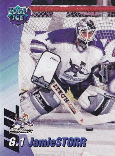1995-96 Phoenix Roadrunners #17 Jamie Storr<br/>1 In Stock - $3.00 each - <a href=https://centericecollectibles.foxycart.com/cart?name=1995-96%20Phoenix%20Roadrunners%20%2317%20Jamie%20Storr...&quantity_max=1&price=$3.00&code=41898 class=foxycart> Buy it now! </a>