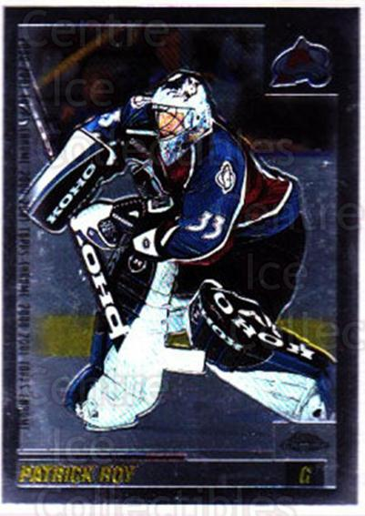2000-01 Topps Chrome #2 Patrick Roy<br/>1 In Stock - $3.00 each - <a href=https://centericecollectibles.foxycart.com/cart?name=2000-01%20Topps%20Chrome%20%232%20Patrick%20Roy...&price=$3.00&code=419619 class=foxycart> Buy it now! </a>