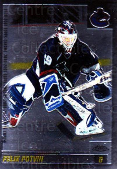 2000-01 Topps Chrome #44 Felix Potvin<br/>2 In Stock - $1.00 each - <a href=https://centericecollectibles.foxycart.com/cart?name=2000-01%20Topps%20Chrome%20%2344%20Felix%20Potvin...&quantity_max=2&price=$1.00&code=419625 class=foxycart> Buy it now! </a>