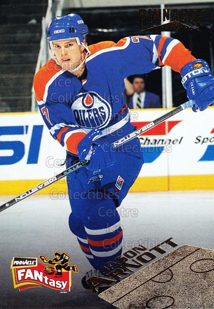 1995-96 Pinnacle Fantasy #22 Jason Arnott<br/>10 In Stock - $2.00 each - <a href=https://centericecollectibles.foxycart.com/cart?name=1995-96%20Pinnacle%20Fantasy%20%2322%20Jason%20Arnott...&quantity_max=10&price=$2.00&code=41978 class=foxycart> Buy it now! </a>