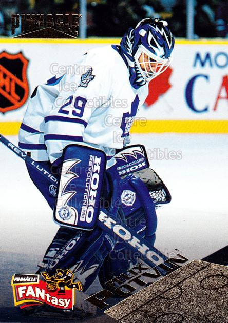1995-96 Pinnacle Fantasy #29 Felix Potvin<br/>2 In Stock - $2.00 each - <a href=https://centericecollectibles.foxycart.com/cart?name=1995-96%20Pinnacle%20Fantasy%20%2329%20Felix%20Potvin...&quantity_max=2&price=$2.00&code=41983 class=foxycart> Buy it now! </a>