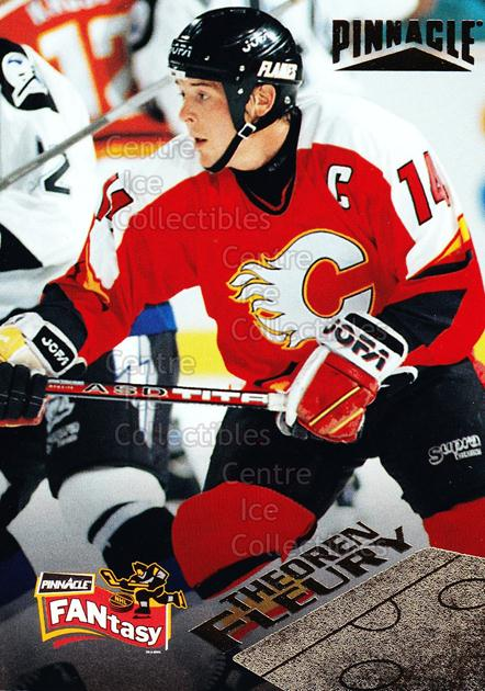 1995-96 Pinnacle Fantasy #9 Theo Fleury<br/>13 In Stock - $2.00 each - <a href=https://centericecollectibles.foxycart.com/cart?name=1995-96%20Pinnacle%20Fantasy%20%239%20Theo%20Fleury...&quantity_max=13&price=$2.00&code=41989 class=foxycart> Buy it now! </a>