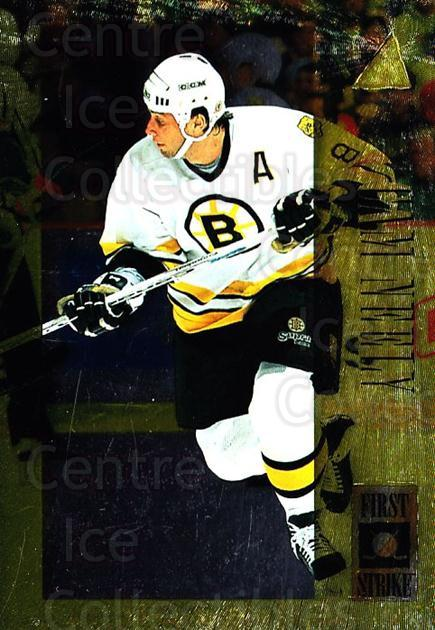 1995-96 Pinnacle First Strike #5 Cam Neely<br/>9 In Stock - $3.00 each - <a href=https://centericecollectibles.foxycart.com/cart?name=1995-96%20Pinnacle%20First%20Strike%20%235%20Cam%20Neely...&quantity_max=9&price=$3.00&code=41993 class=foxycart> Buy it now! </a>