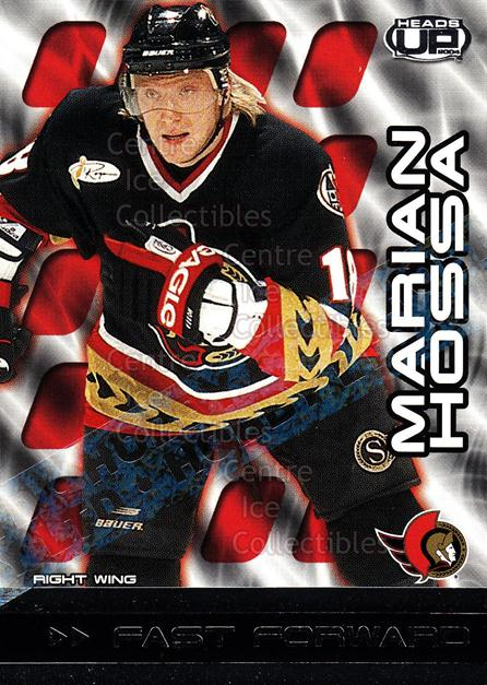 2003-04 Heads-Up Fast Forwards Ltd #6 Marian Hossa<br/>1 In Stock - $5.00 each - <a href=https://centericecollectibles.foxycart.com/cart?name=2003-04%20Heads-Up%20Fast%20Forwards%20Ltd%20%236%20Marian%20Hossa...&quantity_max=1&price=$5.00&code=420215 class=foxycart> Buy it now! </a>