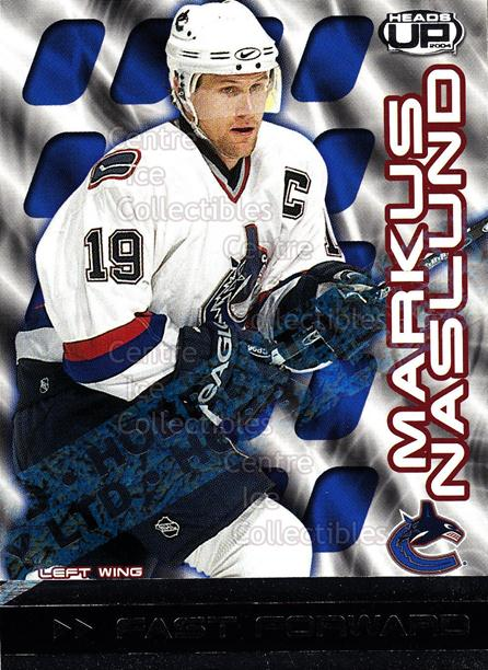 2003-04 Heads-Up Fast Forwards Ltd #9 Markus Naslund<br/>2 In Stock - $5.00 each - <a href=https://centericecollectibles.foxycart.com/cart?name=2003-04%20Heads-Up%20Fast%20Forwards%20Ltd%20%239%20Markus%20Naslund...&quantity_max=2&price=$5.00&code=420218 class=foxycart> Buy it now! </a>