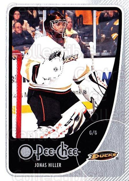 2010-11 O-Pee-Chee #18 Jonas Hiller<br/>3 In Stock - $1.00 each - <a href=https://centericecollectibles.foxycart.com/cart?name=2010-11%20O-Pee-Chee%20%2318%20Jonas%20Hiller...&quantity_max=3&price=$1.00&code=420237 class=foxycart> Buy it now! </a>