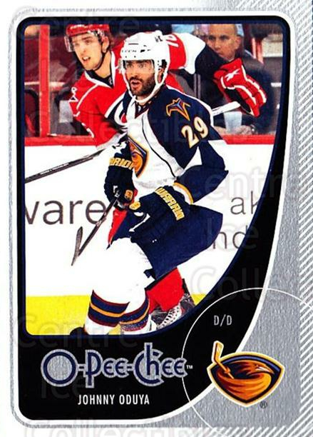 2010-11 O-Pee-Chee #22 Johnny Oduya<br/>4 In Stock - $1.00 each - <a href=https://centericecollectibles.foxycart.com/cart?name=2010-11%20O-Pee-Chee%20%2322%20Johnny%20Oduya...&quantity_max=4&price=$1.00&code=420241 class=foxycart> Buy it now! </a>