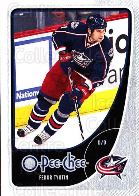 2010-11 O-Pee-Chee #33 Fedor Tyutin<br/>4 In Stock - $1.00 each - <a href=https://centericecollectibles.foxycart.com/cart?name=2010-11%20O-Pee-Chee%20%2333%20Fedor%20Tyutin...&quantity_max=4&price=$1.00&code=420252 class=foxycart> Buy it now! </a>