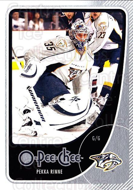 2010-11 O-Pee-Chee #42 Pekka Rinne<br/>4 In Stock - $1.00 each - <a href=https://centericecollectibles.foxycart.com/cart?name=2010-11%20O-Pee-Chee%20%2342%20Pekka%20Rinne...&quantity_max=4&price=$1.00&code=420261 class=foxycart> Buy it now! </a>