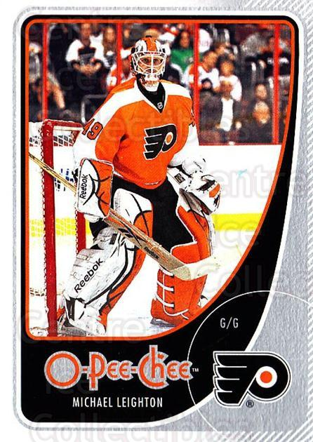 2010-11 O-Pee-Chee #55 Michael Leighton<br/>2 In Stock - $1.00 each - <a href=https://centericecollectibles.foxycart.com/cart?name=2010-11%20O-Pee-Chee%20%2355%20Michael%20Leighto...&quantity_max=2&price=$1.00&code=420274 class=foxycart> Buy it now! </a>