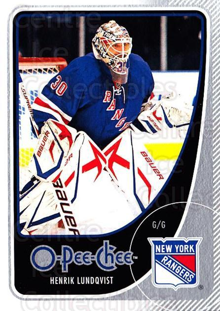 2010-11 O-Pee-Chee #60 Henrik Lundqvist<br/>4 In Stock - $2.00 each - <a href=https://centericecollectibles.foxycart.com/cart?name=2010-11%20O-Pee-Chee%20%2360%20Henrik%20Lundqvis...&quantity_max=4&price=$2.00&code=420279 class=foxycart> Buy it now! </a>