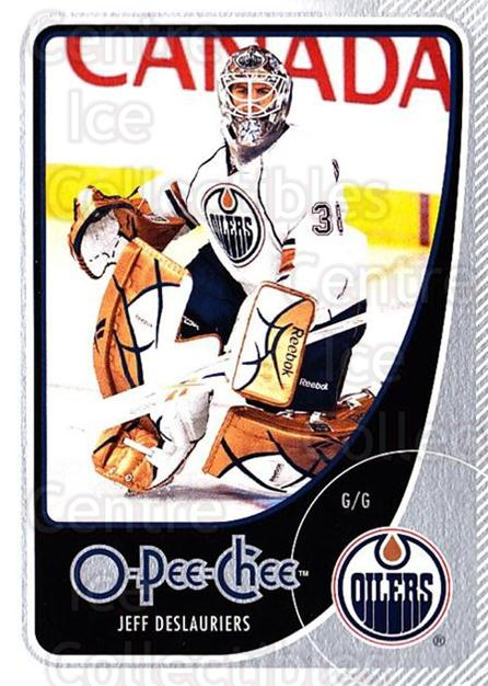 2010-11 O-Pee-Chee #89 Jeff Deslauriers<br/>2 In Stock - $1.00 each - <a href=https://centericecollectibles.foxycart.com/cart?name=2010-11%20O-Pee-Chee%20%2389%20Jeff%20Deslaurier...&quantity_max=2&price=$1.00&code=420308 class=foxycart> Buy it now! </a>