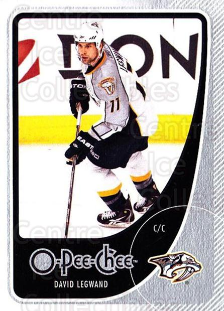 2010-11 O-Pee-Chee #91 David Legwand<br/>4 In Stock - $1.00 each - <a href=https://centericecollectibles.foxycart.com/cart?name=2010-11%20O-Pee-Chee%20%2391%20David%20Legwand...&quantity_max=4&price=$1.00&code=420310 class=foxycart> Buy it now! </a>