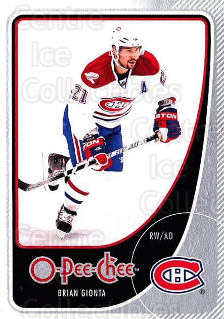 2010-11 O-Pee-Chee #95 Brian Gionta<br/>4 In Stock - $1.00 each - <a href=https://centericecollectibles.foxycart.com/cart?name=2010-11%20O-Pee-Chee%20%2395%20Brian%20Gionta...&quantity_max=4&price=$1.00&code=420314 class=foxycart> Buy it now! </a>