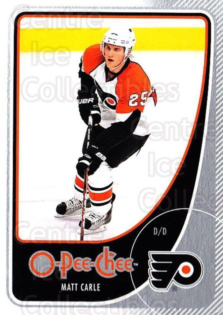 2010-11 O-Pee-Chee #98 Matt Carle<br/>4 In Stock - $1.00 each - <a href=https://centericecollectibles.foxycart.com/cart?name=2010-11%20O-Pee-Chee%20%2398%20Matt%20Carle...&quantity_max=4&price=$1.00&code=420317 class=foxycart> Buy it now! </a>
