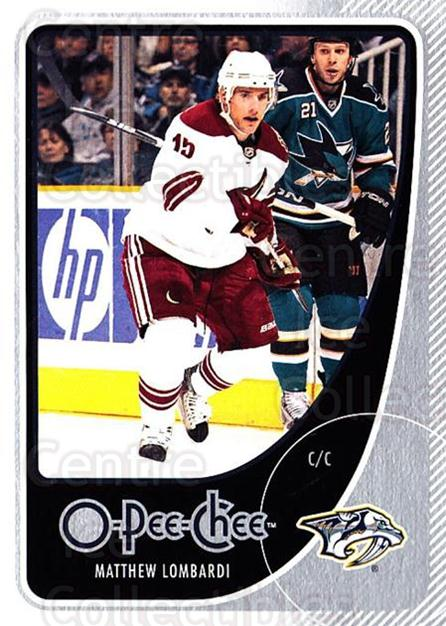 2010-11 O-Pee-Chee #115 Matthew Lombardi<br/>3 In Stock - $1.00 each - <a href=https://centericecollectibles.foxycart.com/cart?name=2010-11%20O-Pee-Chee%20%23115%20Matthew%20Lombard...&quantity_max=3&price=$1.00&code=420334 class=foxycart> Buy it now! </a>